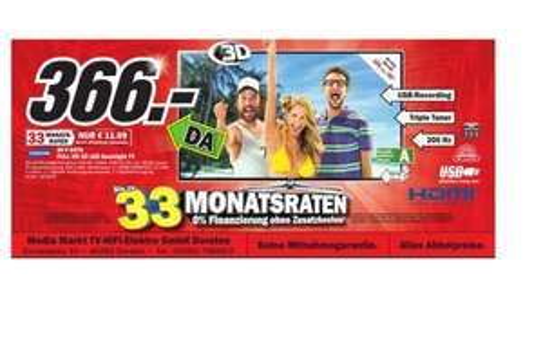 (Media Markt Offline ) Samsung 40F 6470 Europaplatz 10 46282 Dorsten