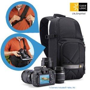 SLR Kamera-Rucksack Case Logic CPL-107 für 35,90€ (statt 64€)