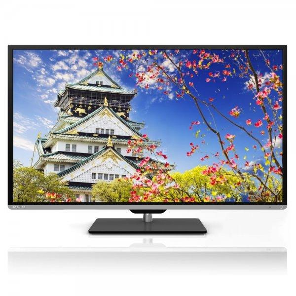 Toshiba 40L5333DG 101,6 cm (40 Zoll) 3D LED-Backlight-Fernseher, EEK A+ (Full HD, 200Hz AMR, DVB-T/C, CI+) schwarz für 299€ @ebay