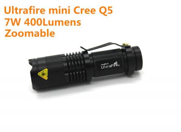 Cree q5 Taschenlampe für $2.63 (ca. 1.93 Euro)