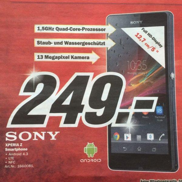 Sony Xperia Z Media Markt HH lokal