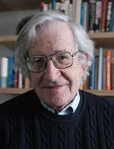 Noam Chomsky: Driving forces in US policy  Heute, 30. Mai 2014, ZKM Karlsruhe, 19:00