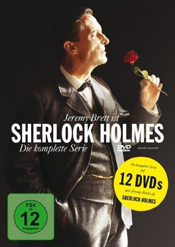 Sherlock Holmes - Die komplette Serie [12 DVDs] [amazon.de]