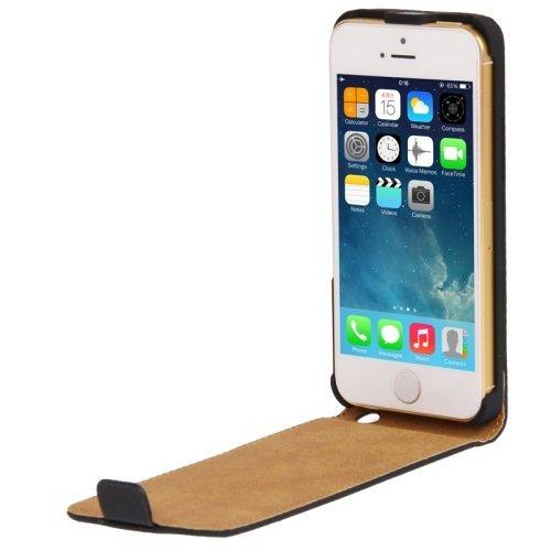 iPhone 5s Leder Tasche in schwarz-PLUSPRODUKT!