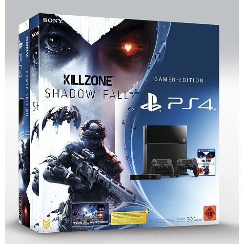 Playstation 4 - Killzone Bundle + Kamera + 2 Controller (500 GB) für 499,- Euro (Vergleichspreis 544,95 Euro)