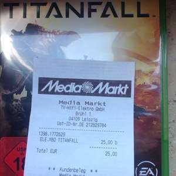 Titanfall Xbox ONE 25€ (Lokal?!) MM Höfe am Brühl (Leipzig)