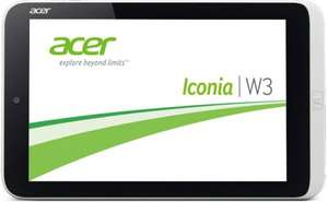 """Staples: Acer Iconia W3-810 Win 8-Tablet (8"""") 2/32GB mit Office 2013 H&S"""