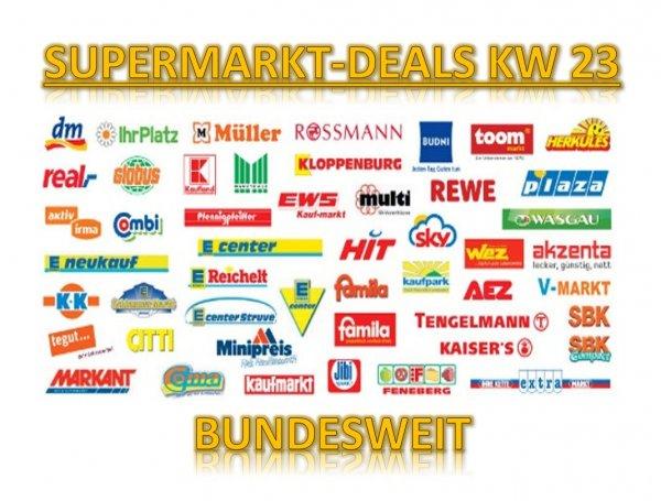 [BUNDESWEIT] Alle Supermarkt-Deals KW23/2014