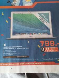 "Lokal - Saturn Moers - Apple MacBook Air 13"" (MD760D/B)"