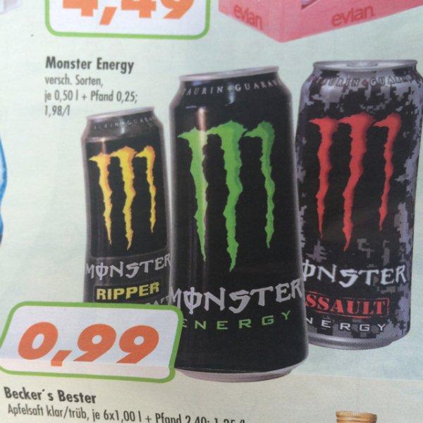 [Lokal NRW] Monster Energy 0,99€