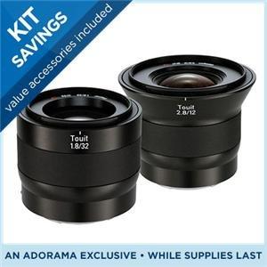 Zeiss 32mm f/1.8 + 12mm f/2.8 Touit Series Bundle für NEX