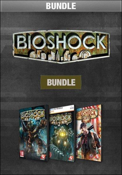 [teils Steam] Bioshock Bundle für ~9,19€ bei GameFly