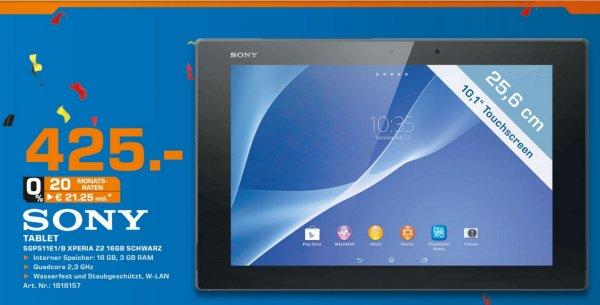 Sony Xperia Z2 Tablet 16GB WiFi für 425€ Lokal [Saturn Aachen]