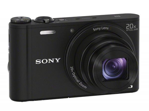 Sony Cyber-Shot DSC-WX350 20,0 MP in schwarz - 199€ - 30€ unter Preisvergleich