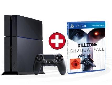 SONY PS4 Konsole + Killzone: Shadow Fall für 419 €