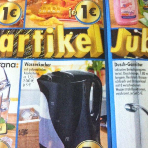 Wasserkocher für 5 Euro @TEDI