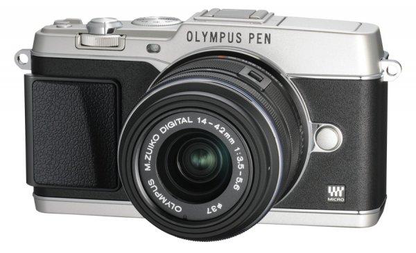 Olympus Pen E-P5 DZ-Kit mit 14-42mm II R + 40-150mm R für 799,- €