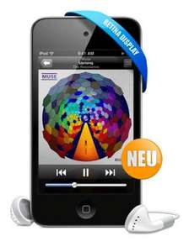 Apple iPod Touch 4G 32GB bei eBay für 229,- EUR inkl. VSK