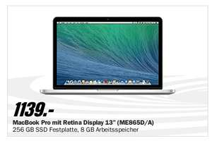 Macbook Retina 13 8gb/256gb ME865/DA