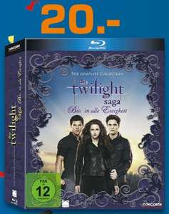 Die Twilight Saga - The Complete Collection [Blu-ray] (20€) [Saturn Moers lokal?]