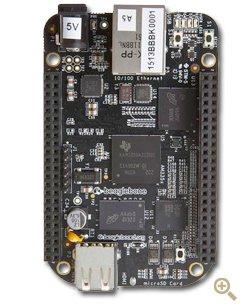 BeagleBone Black 4GB, 512MB RAM (neueste Rev.C) für 44,94€ inkl. VSK @ZackZack