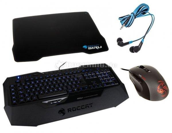 ROCCAT Gaming Control King Kit (ISKU, KONE PURE OPTICAL, SIRU, SYVA) - 32% Ersparnis