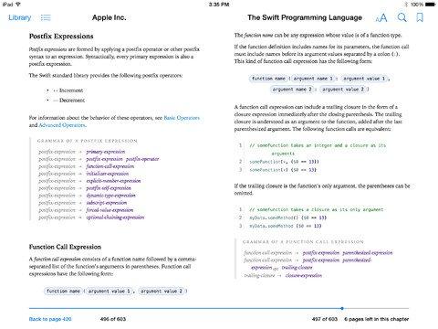 Gratis/Kostenlos:  Apple iBook The Swift Programming Language & Entwicklersoftware