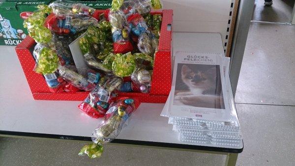 Lokal Thomas Philipp Dresden-Weixdorf Gratis Osterschokolade und hässliche Katzenkalender for free