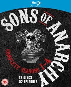Sons of Anarchy – Season 1-4 [Blu-ray] (OT) ab 31,07 € inkl. Vsk.