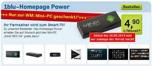 Webspace inkl. 3 Domans & Android TV Stick für 65,7 Euro (12 Monate)