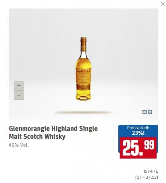 [LOKAL/OFFLINE] Glenmorangie Whisky 10 Jahre 0,7l @Rewe Center Frankfurt NWZ