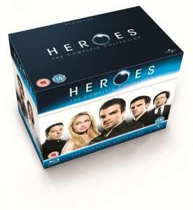 Heroes: The Complete Collection (Session 1-4) [18 x Blu-ray] für ~ 45.83€ @ thehut