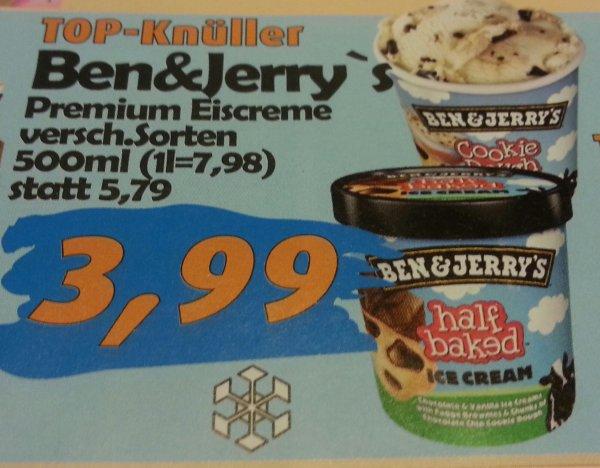 (LOKAL) Ben & Jerry's Eiscreme bei Aktiv&irma / Oldenburg und umzu