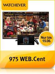 [Update] 6 Monate Watchever + 35 € Gutschein für Chromecast + 975 web.de cents