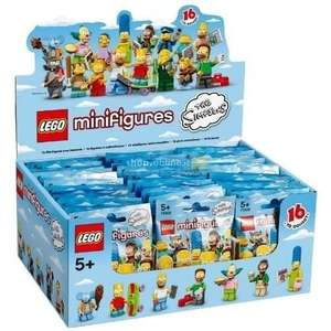 [amazon.fr] Lego Simpsons Minifiguren 60er Box  131,08 EUR inkl. VSK