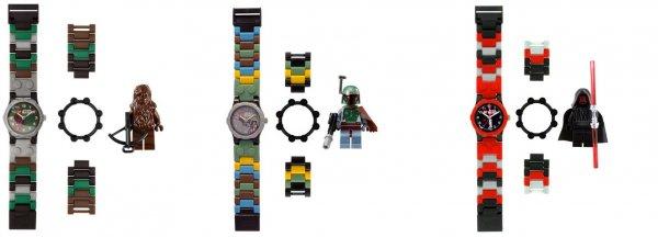 Lego™ - Star Wars Kinderuhr (Boba Fett,Darth Maul,Chewbacca) für €11,05 [@Zavvi.com]
