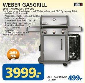 Weber Gasgrill Spirit S-310 GBS