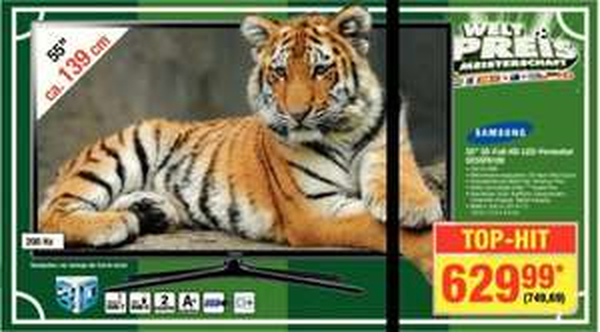 [Metro Offline] UE55F6100, Samsung TV LED 55'', Full HD, 3D