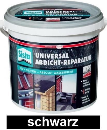 Sista Universal Abdicht Reparatur 4 L Eimer - Schwarz