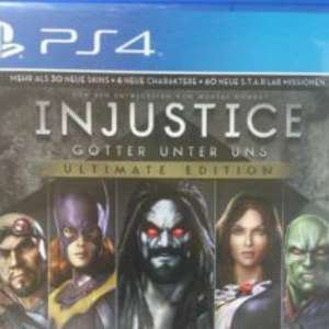 PS4 Injustice: Götter unter uns – Ultimate Edition Idealo: 43,19€