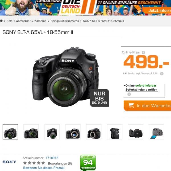 Sony slt a65 mit sal 18-55mm