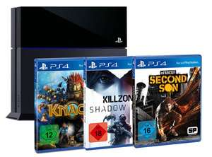 PlayStation 4 + Knack + Killzone SF+ Infamous: Second Son (Expert)