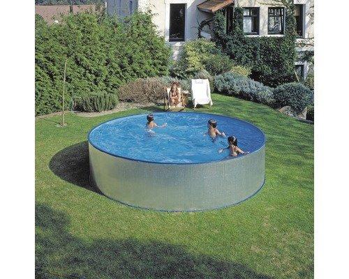 Stahlwand Pool 350 x 90 bei Hornbach durch Preisgarantie