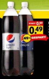 Pepsi & Pepsi Light für 0,49€ je 1,5l-Flasche (1l=0,33€) - nur am 06.06. @ Netto (mit Hund)