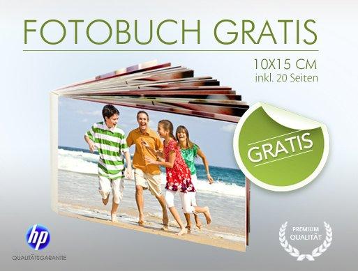 20-seitiges Fotobuch (10x15cm) für 3,95€ VSK