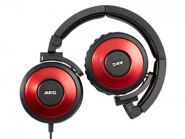 AKGK619RD AKG High Performance DJ Kopfhörer bei Amazon für 57 Euro