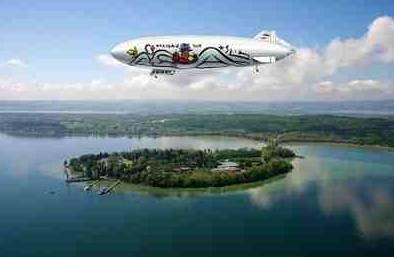 Zeppelinflug Bodensee  auf 2. Ticket 50% Rabatt