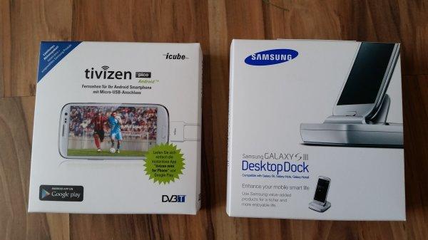 Tivizen pico Android + Samsung Desktop Dock