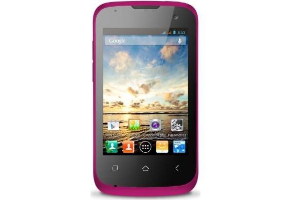 Wiko Cink M063WIN Smartphone, pink, mit Gutscheincode 89€