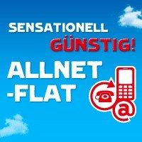12,95 €* rechnerisch monatl. Allnet Flat + 1 GB Internet Flat im Vodafone-Netz